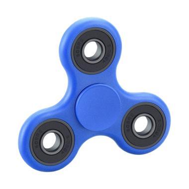 uNiQue Fidget Spinner Hand Toys Focus Mainan Edukasi - Biru