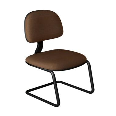 Alvero Chair AF-903 Type Standard Kain Kursi Kantor - Coklat