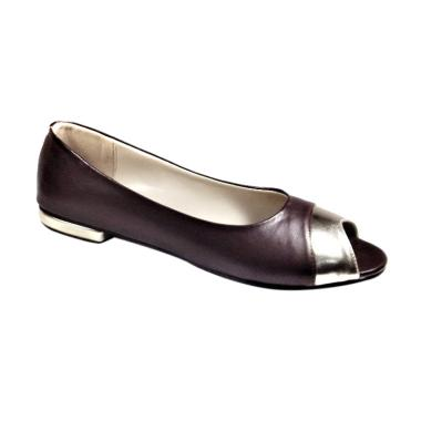 Beauty Shoes 1007 Larina Flat Shoes Sepatu Wanita - Brown