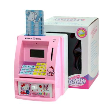 St4rshop ATM Bank Mini Type Hello Kitty Mainan Edukasi