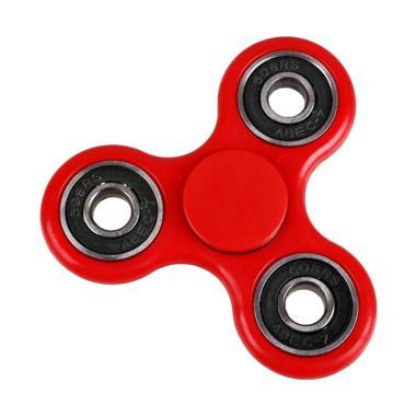 uNiQue Fidget Spinner Hand Toys Focus Mainan Edukasi - Merah