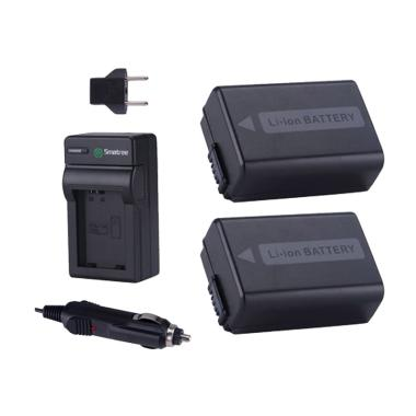 Smatree FW50 Battery Power Kit for Sony Mirrorles - Hitam