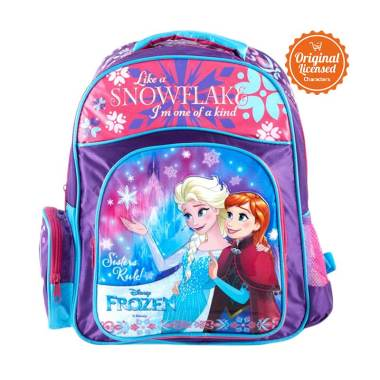 Disney Frozen Snow Flake Backpack Tas Ransel Anak ... 51305caef8