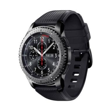 Samsung Gear S3 Frontier with Black ...  Smartwatch-Internasional