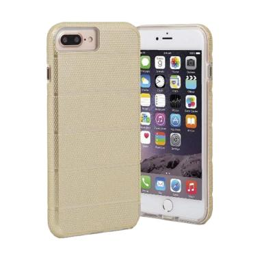 CaseMate Original Tough Mag Clear Casing for iPhone 7 Plus - Gold