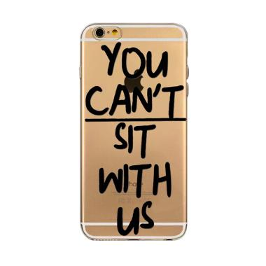 iBuy Ultra Thin You Can't Sit With  ... ne 6 or iPhone 6s - Clear