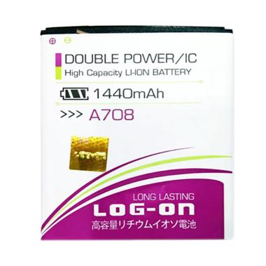 Log On Double Power IC Battery For Lenovo A708 1440mAh