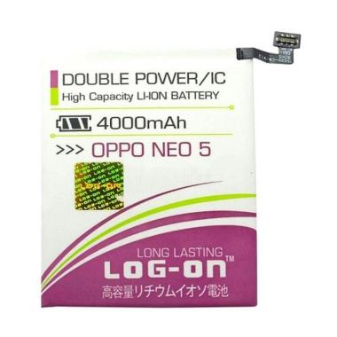 Log On Double Power and IC Battery  ... 4000 mAh/Garansi 6 Bulan]