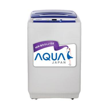 Aqua QW-89XTF Mesin Cuci - Abu-abu  ... 8 kg/ Khusus Jabodetabek]