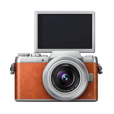 Panasonic Lumix G DMC-GF8 Lens 12-32mm Kamera Mirrorless - Orange