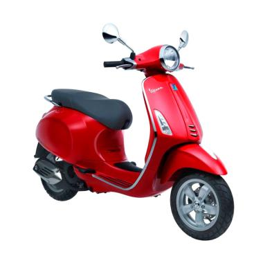 Vespa Primavera 150 i-Get Sepeda Motor - Rosso Dragon [OTR Bandung]