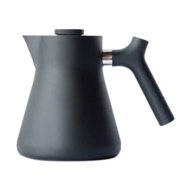 Fellow Raven Stovetop Kettle with Tea Steeper - Matte Black