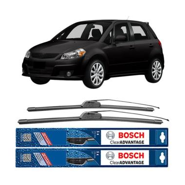 harga Bosch New Clear Advantage Frameless Wiper for Suzuki SX4 Hatchback [26 dan 14 Inch] Blibli.com