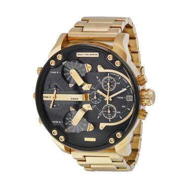 Diesel Men's Golden Business Mechanical Watch Jam Tangan Pria - Gold