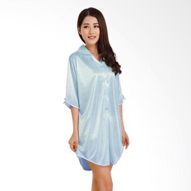 Kimochi Me Lingerie Babydoll LBBD045 Pakaian Tidur - Biru