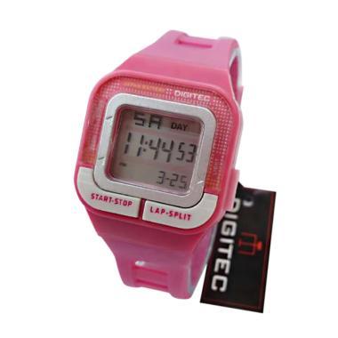 Digitec- DG X-0032122P Digital Pink -Jam Tangan Wanita - Digital - Full Rubber