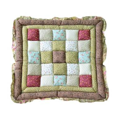 Vintage Story Bread Cushion Shabby 03 Bantal Sofa [50 x 50 cm]