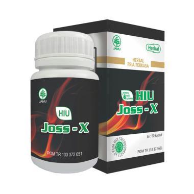 Herbal Indo Utama JOSS-X Suplemen Kesehatan [60 Kapsul]