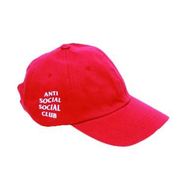 JersiClothing Anti Social Social Club Baseball Cap - Merah