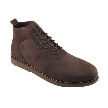 Jual Sepatu Boots Kulit Pria Brodo Terbaru - Harga Murah  08e178b80e