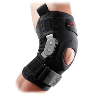 harga McDavid 429 Knee Brace with Polycentric Hinges Alat Pelindung - Black Blibli.com