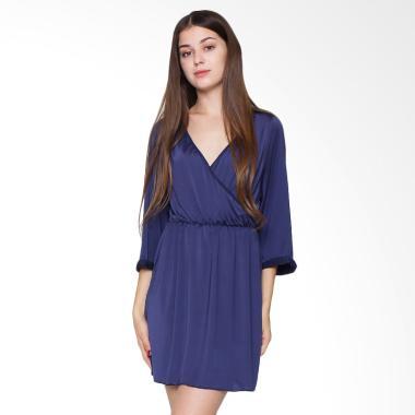 Sexy Sleep Nightgown Hannah SS119 Baju Tidur Wanita - Blue