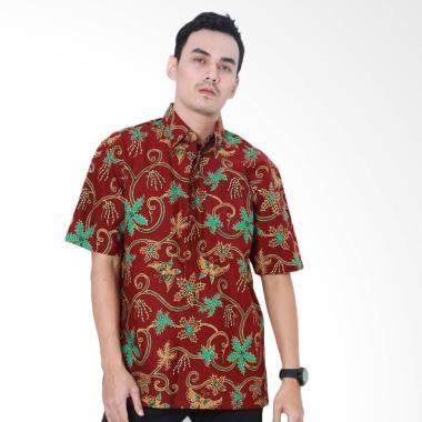 Aamir Kinsler BK102 Kemeja Batik Lengan Pendek - Multicolour