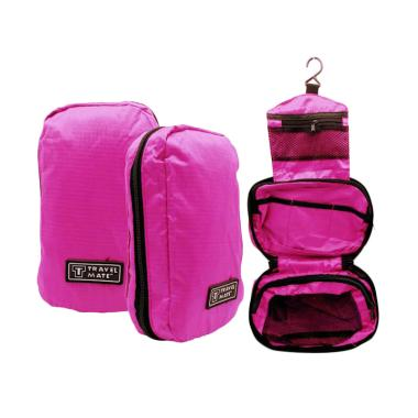bestchoice_travel-mate-toiletries-bag-tas-kosmetik-toilet---pink-tua_full02 Koleksi Harga Kosmetik Organizer Terbaru