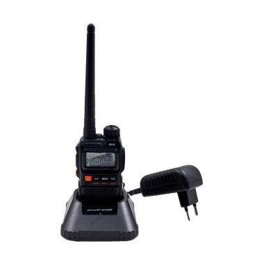 Baofeng UV-3R PLUS Radio Walkie Han ... Black [Dual Band/UHF/VHF]