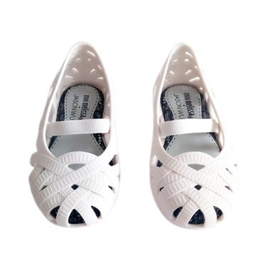 Mini Melissa Jean Jason Wu Sepatu Anak Perempuan - White