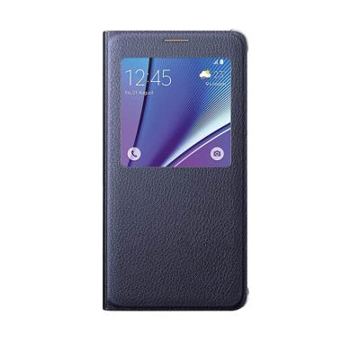 Samsung Folio Flip Cover Casing for Samsung Galaxy J5 - Hitam