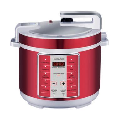 Homzace Intelegent Pressure Cooker Alat Masak Presto - Merah