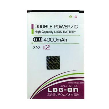 Log On Double Power & IC Battery fo ... 4000 mAh/Garansi 6 Bulan]