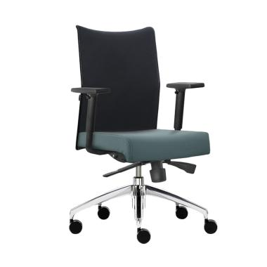 Prissilia Amazonite Luxury Staff Chair Kursi Kantor