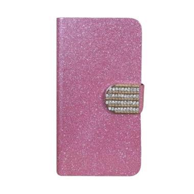OEM Diamond Flip Cover Casing for X ... 3S or 3S Pro - Merah Muda
