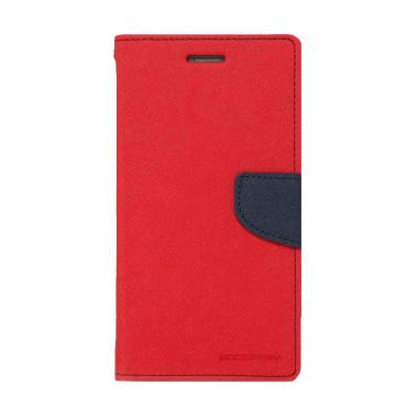 Mercury Fancy Diary Casing for Xiaomi Note - Merah Biru Laut