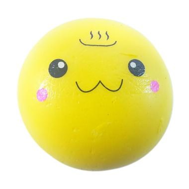Chocobi Slime Jumbo Onsen Bun Squishy Gantungan Kunci