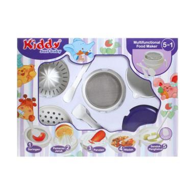 harga Kiddy 5in1 Multifunctional Baby Food Maker Perlengkapan Makan Bayi Blibli.com