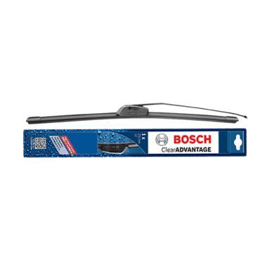 Bosch Wiper Frameless Depan Mobil N ... e - Hitam [1 pc/ 24 Inch]