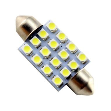 JMS Festoon 16 SMD 1210 Lampu LED M ... te [41 mm/ 1 pair/ 2 pcs]