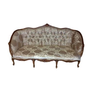 Mahardika Furniture 01 Sofa Keraton - Cokelat Mahoni