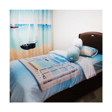 Odette Themehome Sailor Dream Quilt Set Cover [140 x 200 cm]