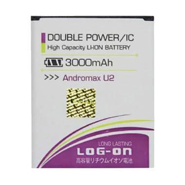 Log On Double Power and IC Battery  ... [3000mAh/Garansi 6 Bulan]