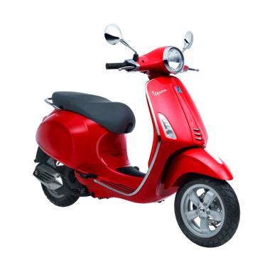 Vespa Primavera 150 i-Get Sepeda Motor - Rosso Dragon [OTR Semarang]