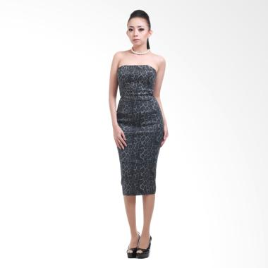 Amaranthine Indonesia VC Leopard Bustier Dress
