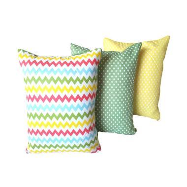 Melia Bedsheet Cecil Mini Collection Sarung Bantal Sofa [3 pcs]