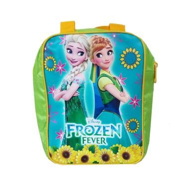 Unique Kitab Printing Frozen Tas Sekolah Anak -  Yellow Green