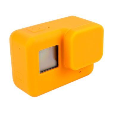 GoPro Hero 5 / Hero 6 Silicone Case with Lens Cap Cover - Orange