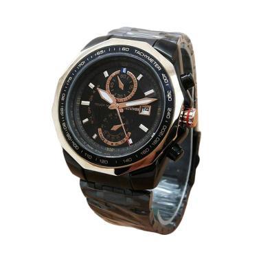 Jam Tangan Fortuner FR-K5005 Wanita - Black Gold
