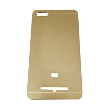 Motomo Metal Hardcase Casing for Xiaomi Mi 4i or Xiaomi Mi4i - Gold